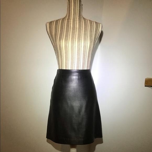 Dkny Dresses & Skirts - DKNY Leather Skirt